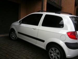 New Car - White Hyundai Getz